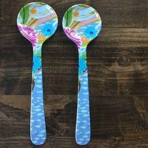 Anthropologie Salad Spoons